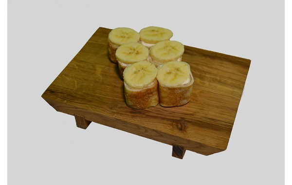 Творожный Ролл с Бананом