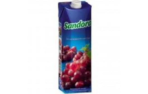 Sandora красный виноград 1л