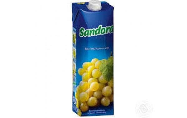 Sandora белый виноград 1л