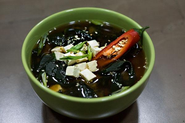 Мисо суп острый